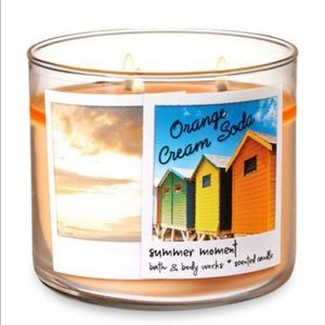 Orange Cream Soda Bath and Body Works Candle